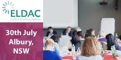 ELDAC Aged Care Workshop: Albury, NSW