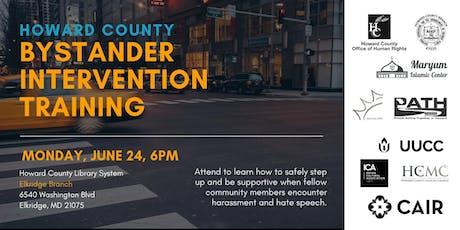 Howard County Bystander Intervention Training  tickets