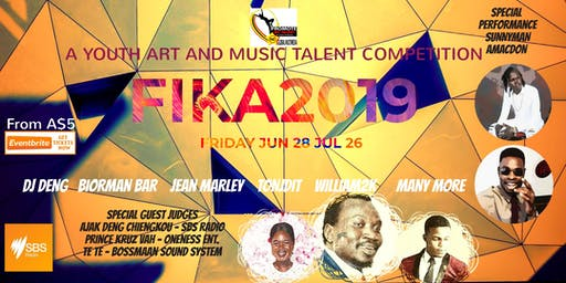 FIKA2019 - A YOUTH ART AND MUSIC TALENT COMPETITION