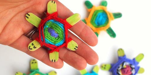 SCHOOL HOLIDAY PROGRAM JULY 2019: God's Eye Weaving & Bauble Dioramas