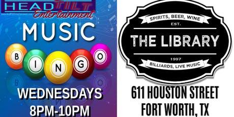 Music Bingo at The Library Bar - Fort Worth, TX tickets
