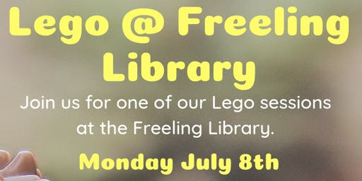 July Holidays: Lego @ Freeling Library