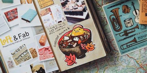 Journaling Festival 2019: Workshop - Travel Journaling with Sketches & Paraphernalia by Szetoo Weiwen