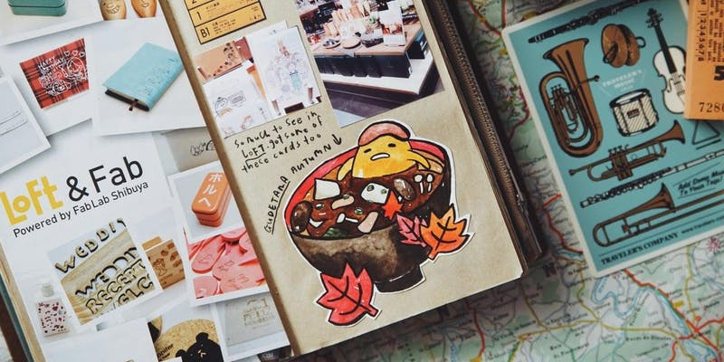 Workshop – Travel Journaling with Sketches & Paraphernalia by Szetoo Weiwen