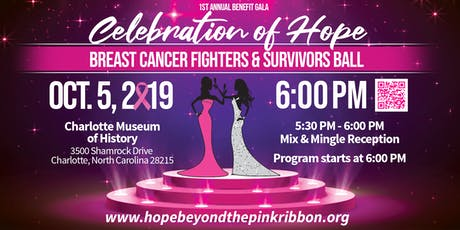 1st Annual Benefit Gala: Breast Cancer Fighters & Survivors Ball tickets
