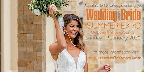 Melbourne Wedding & Bride Summer Bridal Expo tickets