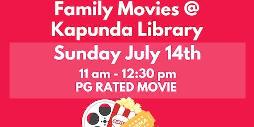 July Holidays: Sunday PG Movie @ Kapunda Library