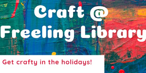 July Holidays: Craft @ Freeling Library