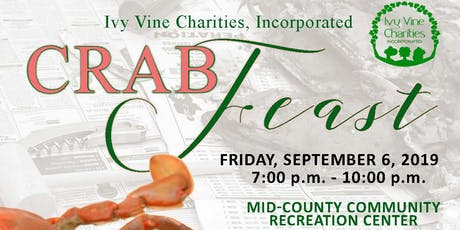 Ivy Vine Charities, Inc. - 3rd Annual Crab Feast tickets