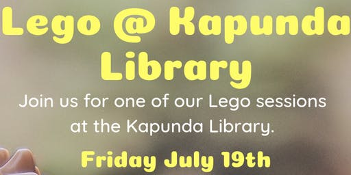 July Holidays: Lego @ Kapunda Library