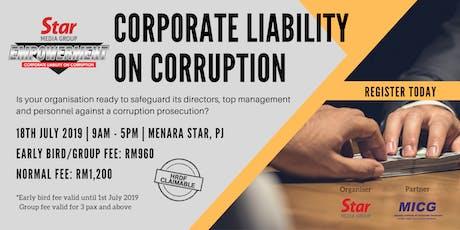 Seminar: Corporate Liability on Corruption tickets