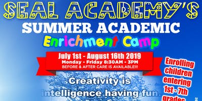 SEAL Academy Summer Academic Enrichment Camp Appointments