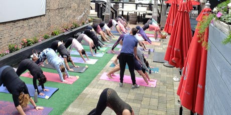 Yoga, Brunch, & Bubbles on the Patio tickets