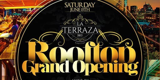 LA TERRAZA | LADEIS NIGHT FREE ADMISSION | ROOFTOP PARTY SATURDAY NIGHT