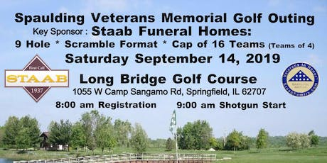 2019 Spaulding Veterans Memorial Golf Outing tickets