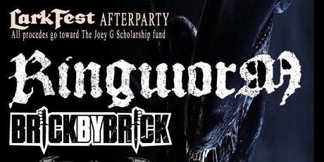 Ringworm, Brick By Brick, Armor Column, Tyranize, Concrete Dream tickets