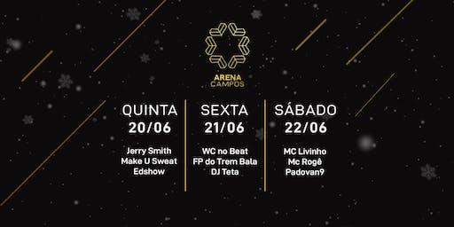 Pacote Arena Campos