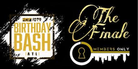 Birthday Bash Weekend Finale tickets