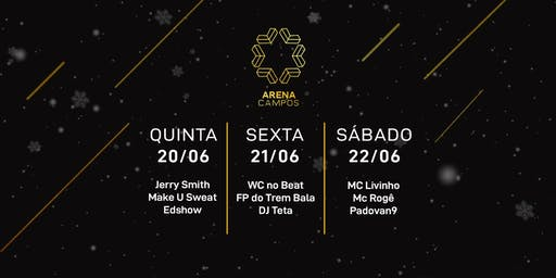 Arena Campos 21.06 - Wc No Beat e FP Trem Bala