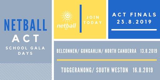 Belconnen & North/Gungahlin Primary School Netball Gala Day