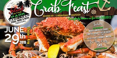 Crab Feast at Islands in the Park