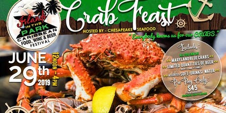 Crab Feast at Islands in the Park tickets