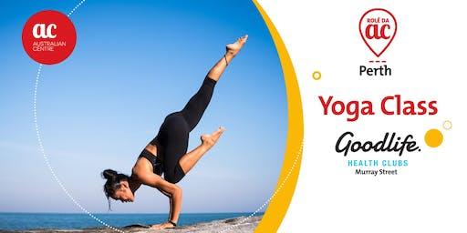AC Yoga Class - GOOD LIFE HEALTH CLUB