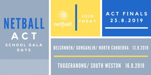 Tuggeranong & South/Weston Primary School Netball Gala Day