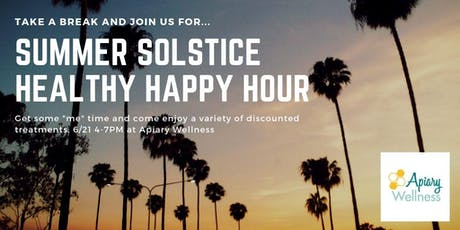 Summer Solstice Healthy Happy Hour  tickets