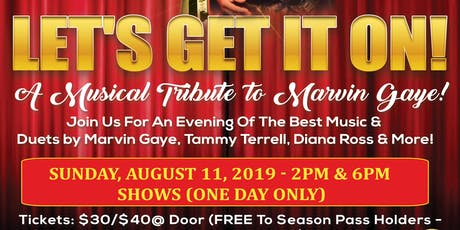 Let's Get It On A Marvin Gaye Tribute tickets