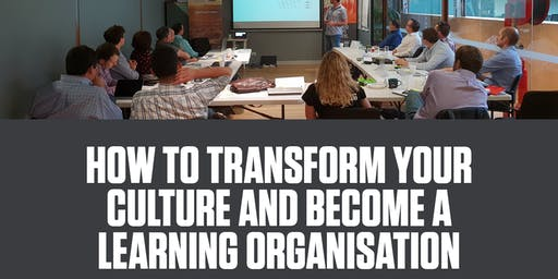 Business Breakfast Series: How to transform your culture and become a learning organisation