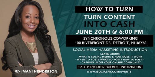 Social Media Marketing 101: How To Turn Content Into Cash