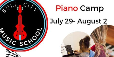 Piano Camp tickets