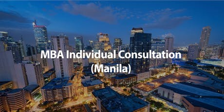 CUHK MBA Individual Consultation in Manila tickets