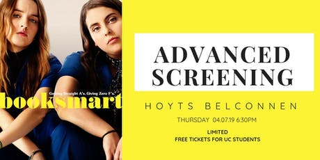 Booksmart Screening tickets
