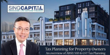 Tax Planning for Property Owners and Investors tickets