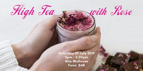 High Tea with Rose tickets