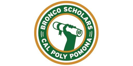 Bronco Scholars 2019 Move-In Dinner