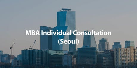 CUHK MBA Individual Consultation in Seoul tickets
