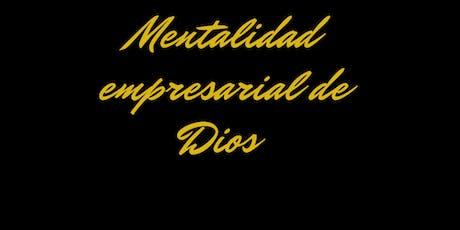 Mentalidad empresarial de Dios entradas