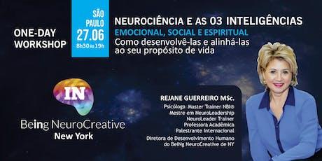 Neurociência e as 03 Inteligências - São Paulo ingressos