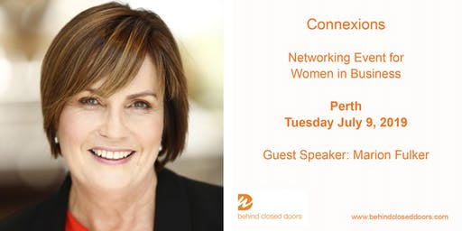 Perth Business Women Connexions Networking Event with Marion Fulker