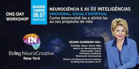 Neurociência e as 3 inteligências - Balneário de Camboriú ingressos