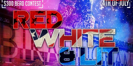 RED WHITE & LIT tickets