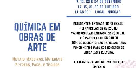 Química em obras de Arte - Caxias do Sul ingressos