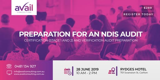 SEMINAR | PREPARATION FOR AN NDIS AUDIT
