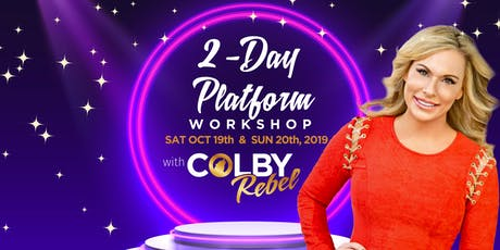 2-Day Platform Workshop- with Colby Rebel tickets