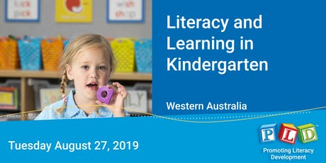 Literacy and Learning in Kindergarten August 2019 tickets