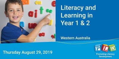 Literacy and Learning in Year 1 & 2 August 2019