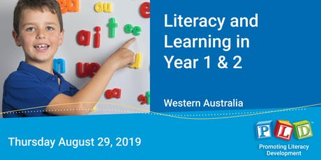 Literacy and Learning in Year 1 & 2 August 2019 tickets